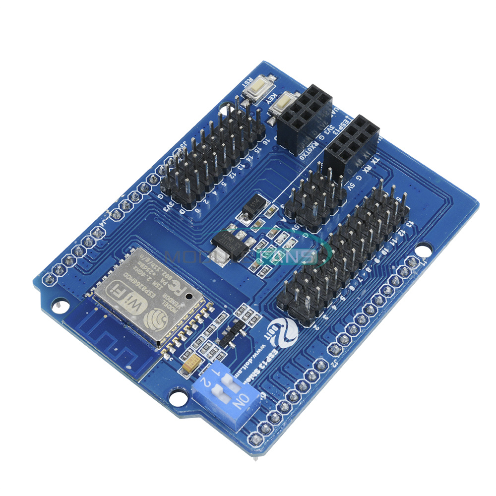 Esp web sever serial wifi shield board module
