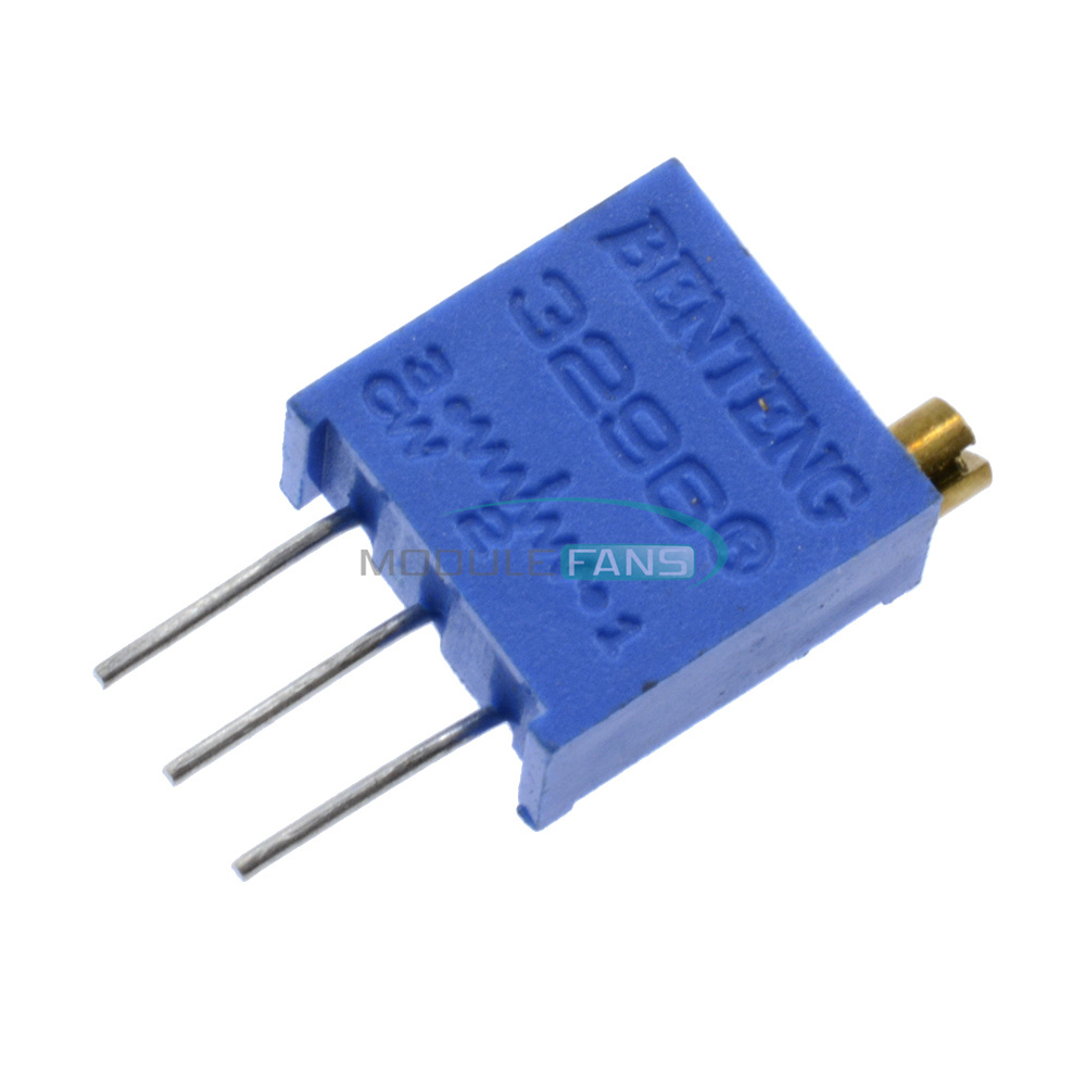20 pcs 3296W-503 50K ohm 3296 Trim Pot Trimmer Potentiometer HM New