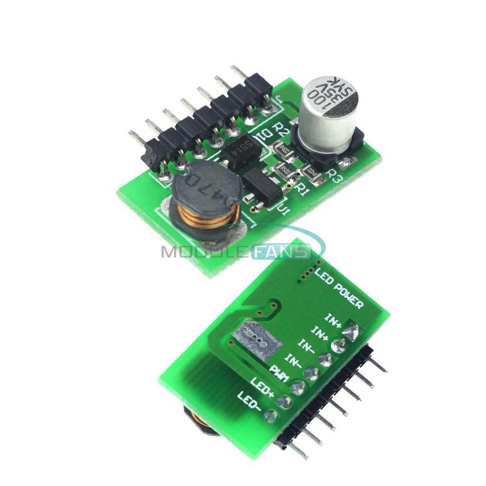 10pcs 3w 700ma Dc 70 30v To 12 28v Led Lamp Driver Support Pwm Dimmer Control Circuit High Qutaly Dcdc Leds Module