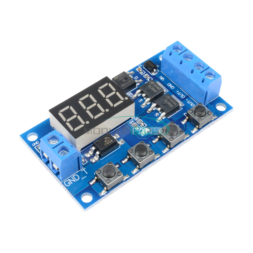 Trigger Cycle Timing Delay Switch Circuit Double Mos Tube