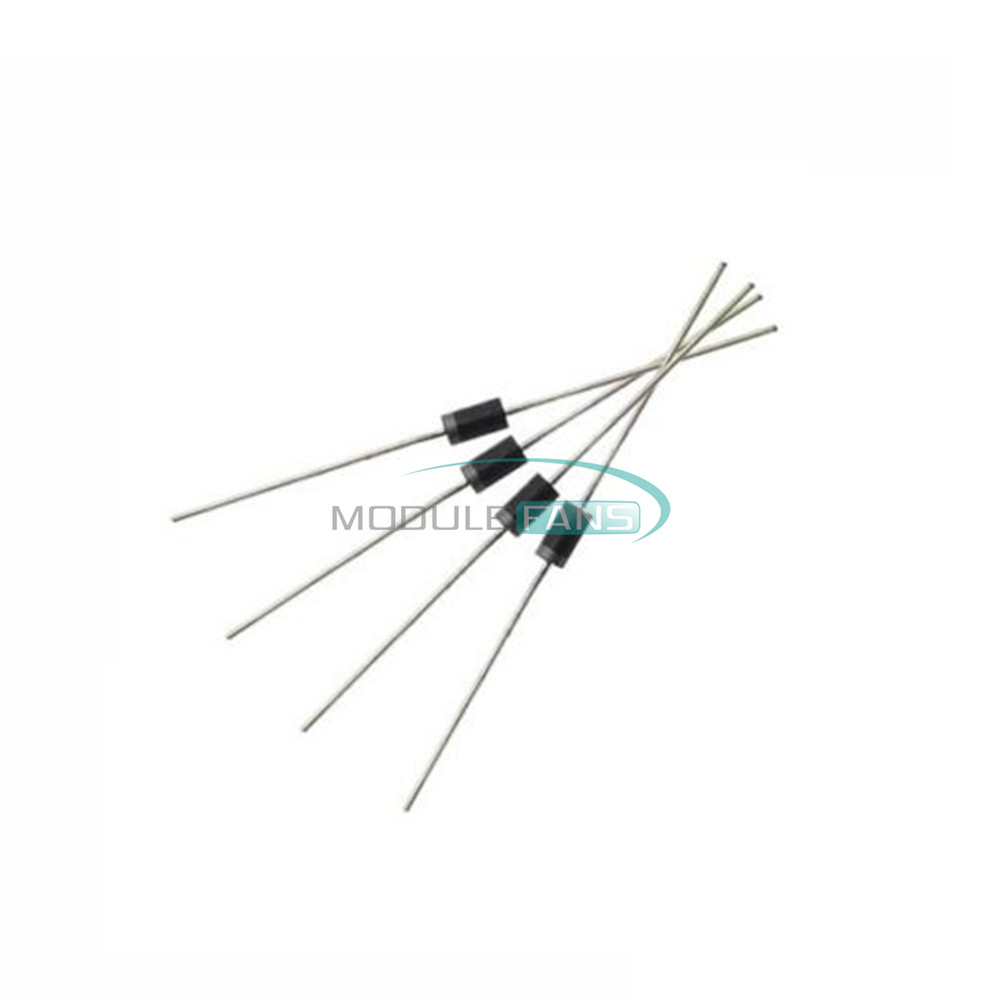 Axial 5817 IN5817 1 Amp 20 Volt Pack of 100 Pieces DO-204AL Chanzon 1N5817 Schottky Barrier Rectifier Diodes 1A 20V DO-41