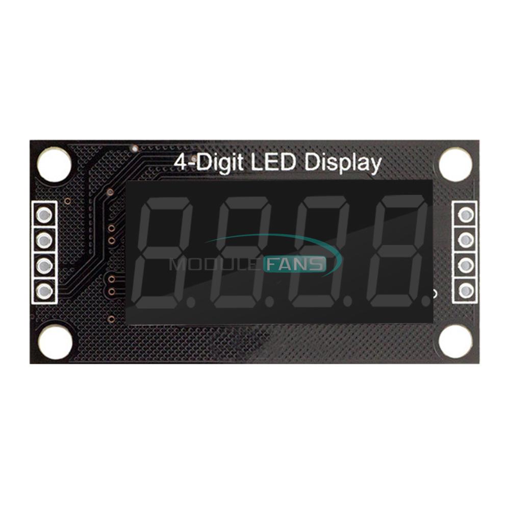 "0.36/"" Green TM1637 4-Digit Digital LED Display Clock Tube Display for Arduino"