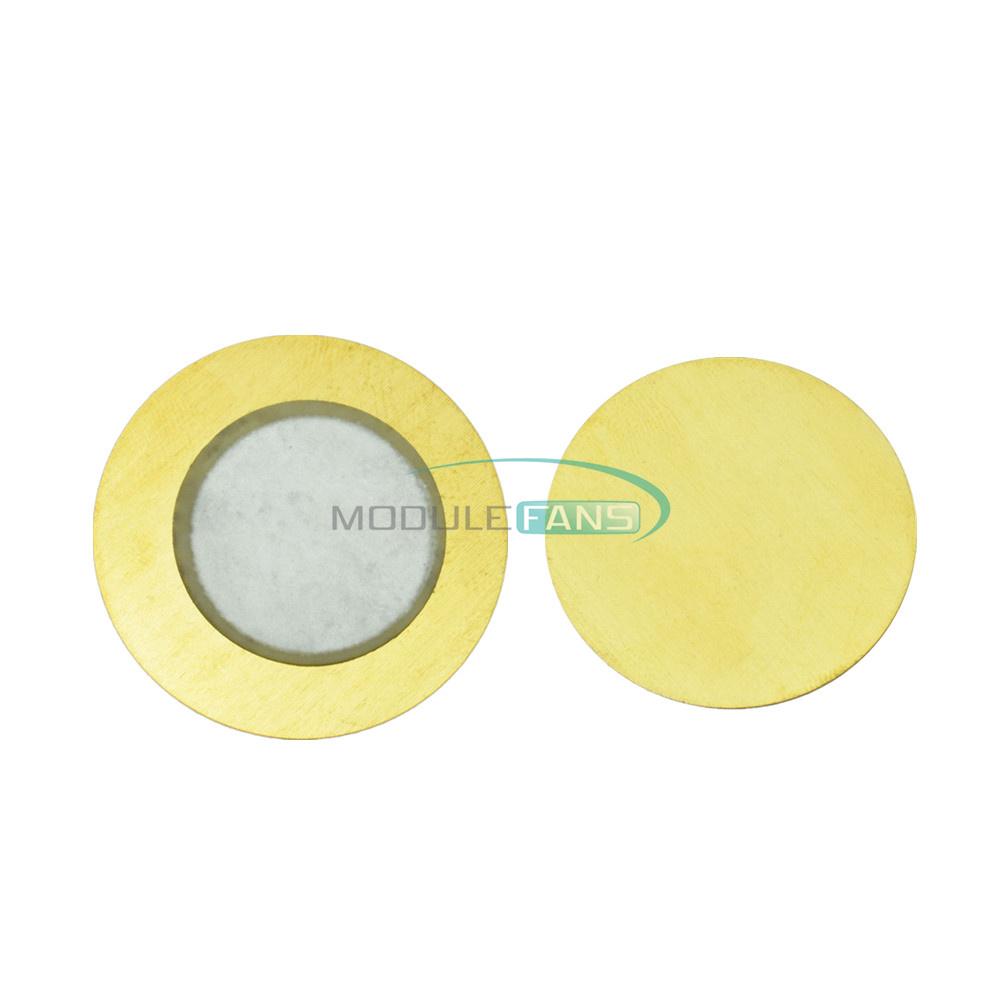 50PCS 35mm Piezo Elements buzzer Sounder Sensor Trigger Drum Disc