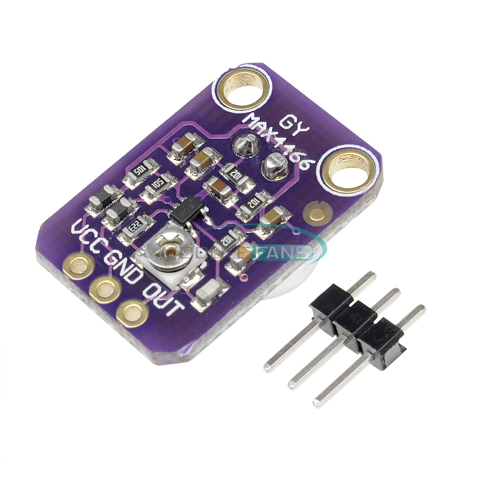 GY-4466 Microphone amplifier module max4466 adjustable gain for arduino  ZP