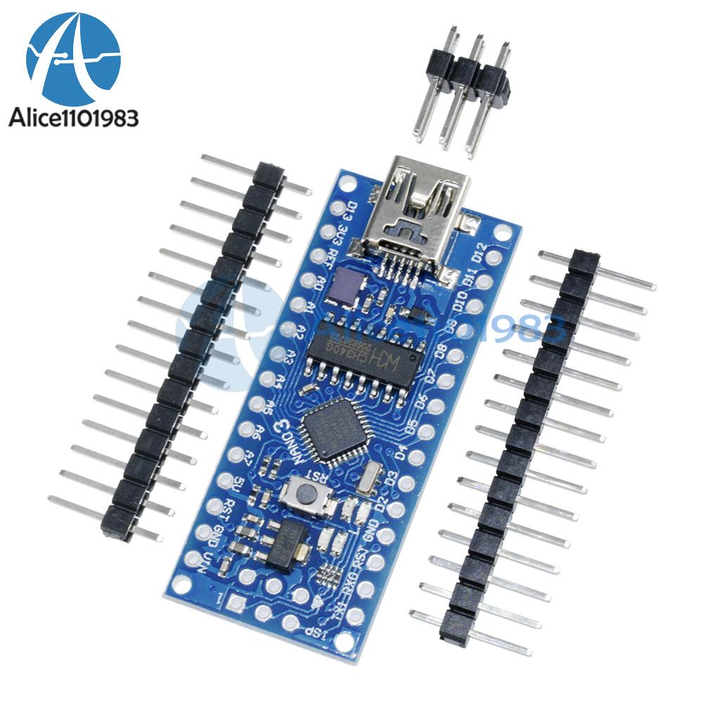 1//2//5//PCS USB Nano V3.0 ATmega168 16M 5V Mini-controller CH340G For Arduino