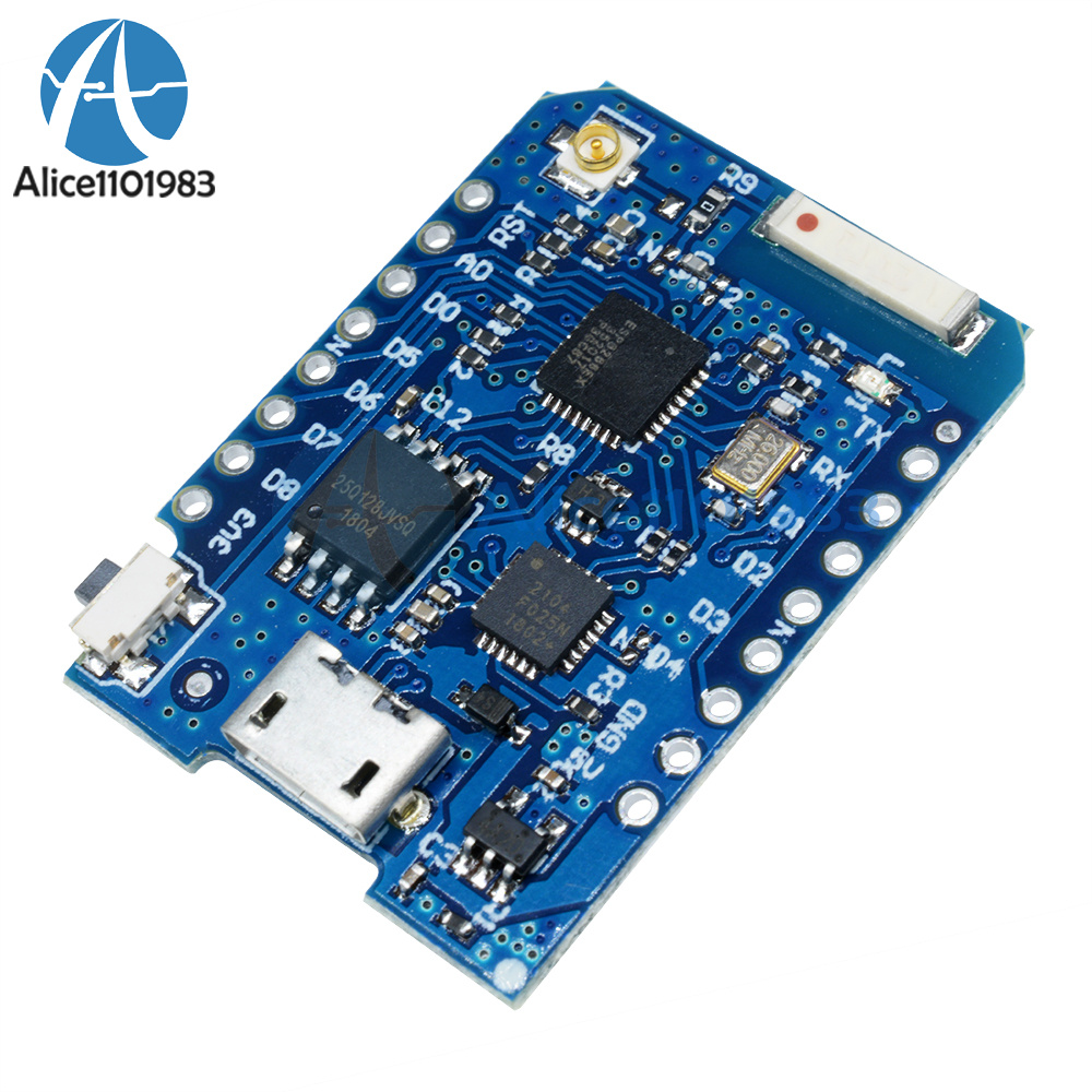 16M Bytes WEMOS D1 Mini Pro External Antenna Connector ESP8266 CP2104 IPEX GPRS