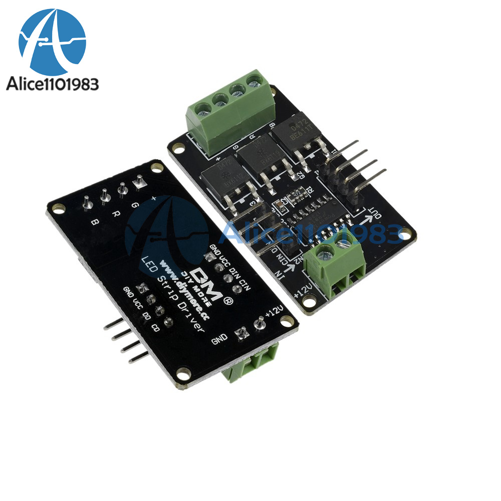 Full Color Rgb Led Strip Driver Module Shield For Arduino