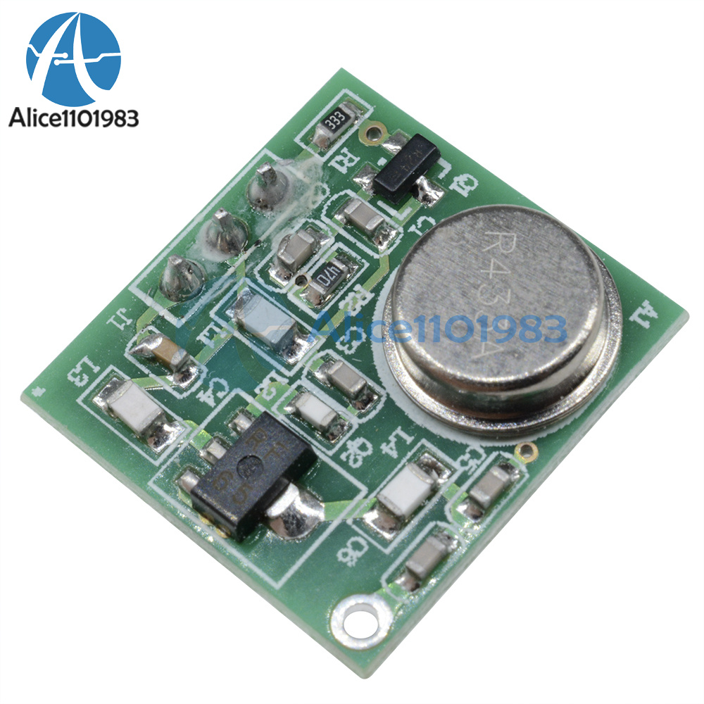 Practical Dc 9v 12v Wireless Fm Transmitter Board Module Zf 4 43392 Low Power Circuit 43392mhz P