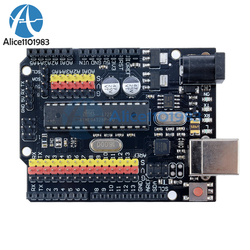 Arduino compatible uno r plus sensor i o shield