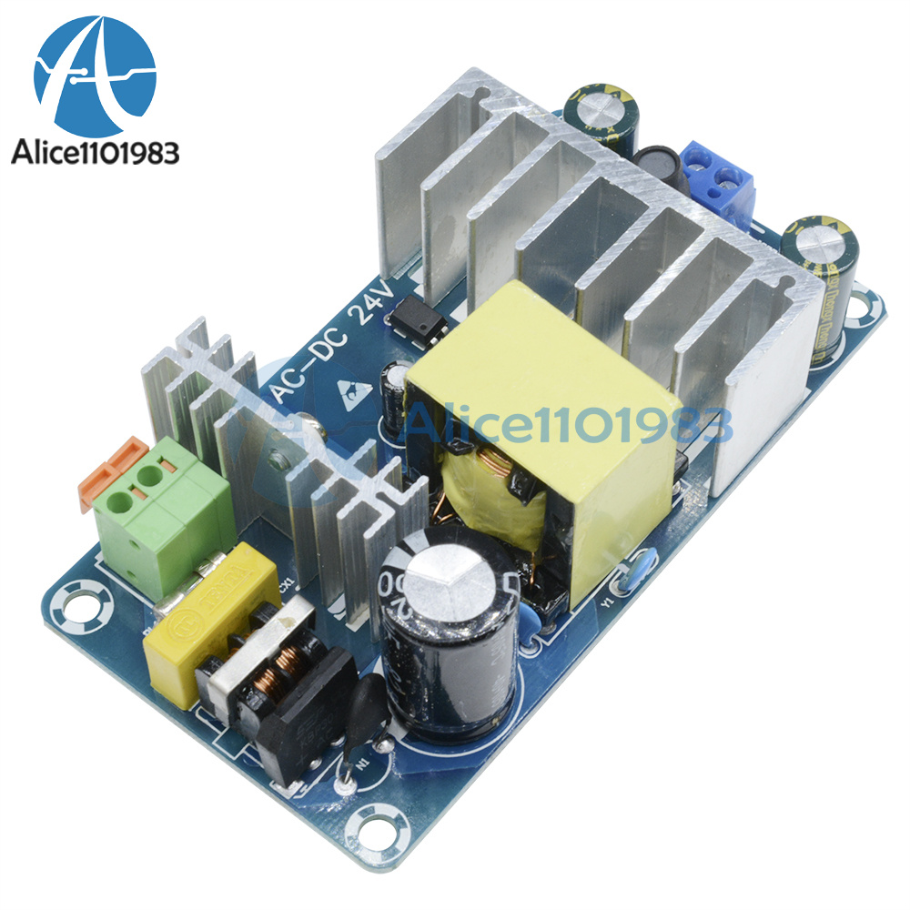 Ac 85 265v To Dc 24v 4a 6a 100w Switching Power Supply Board Protectors Circuit On Smps Modelxk 2412 24 Protection Overvoltage Overcurrent Voltage Ac85 Input 110 240v Output