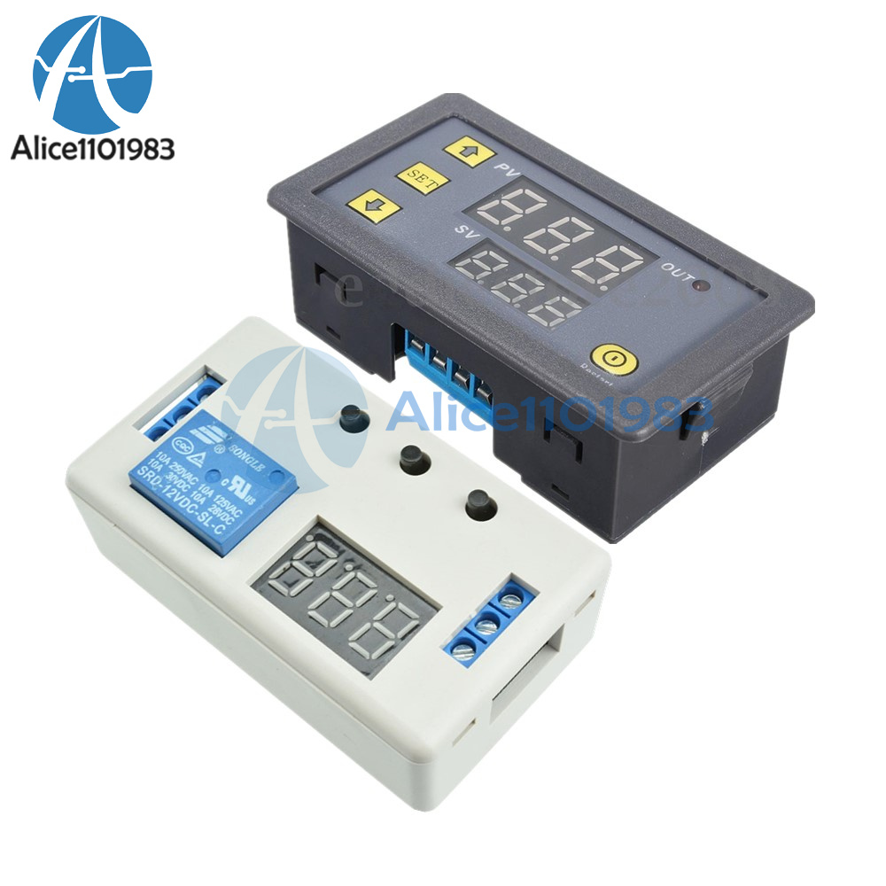 12v Led Automation Delay Cycle Timer Control Switch Dual