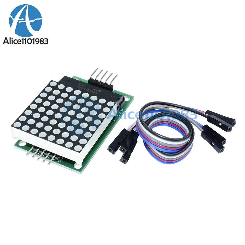 Max7219 Dot Led Matrix Module Mcu Control Display For Driver It All Depends On Your Circuit And What Arduino