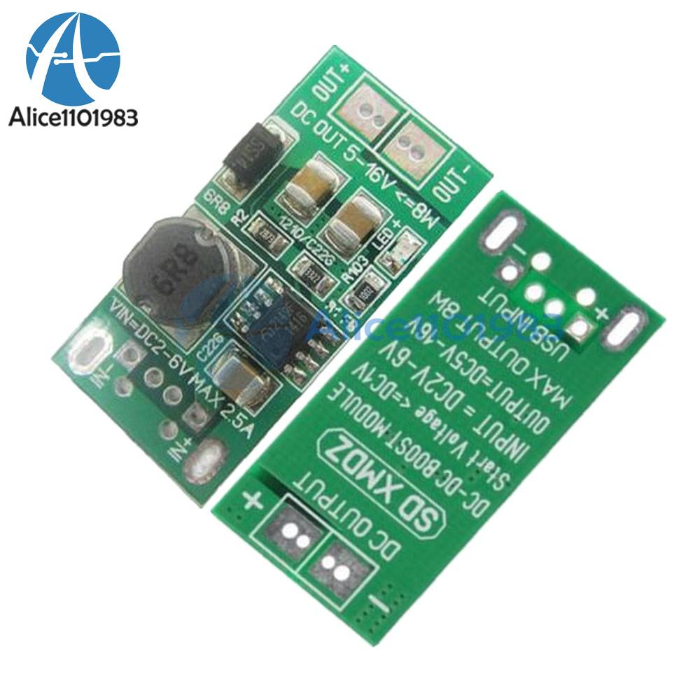 8w Usb Input Dc 5v To 12v Converter Step Up Power Supply Boost Dcdc Stepup Circuit Module