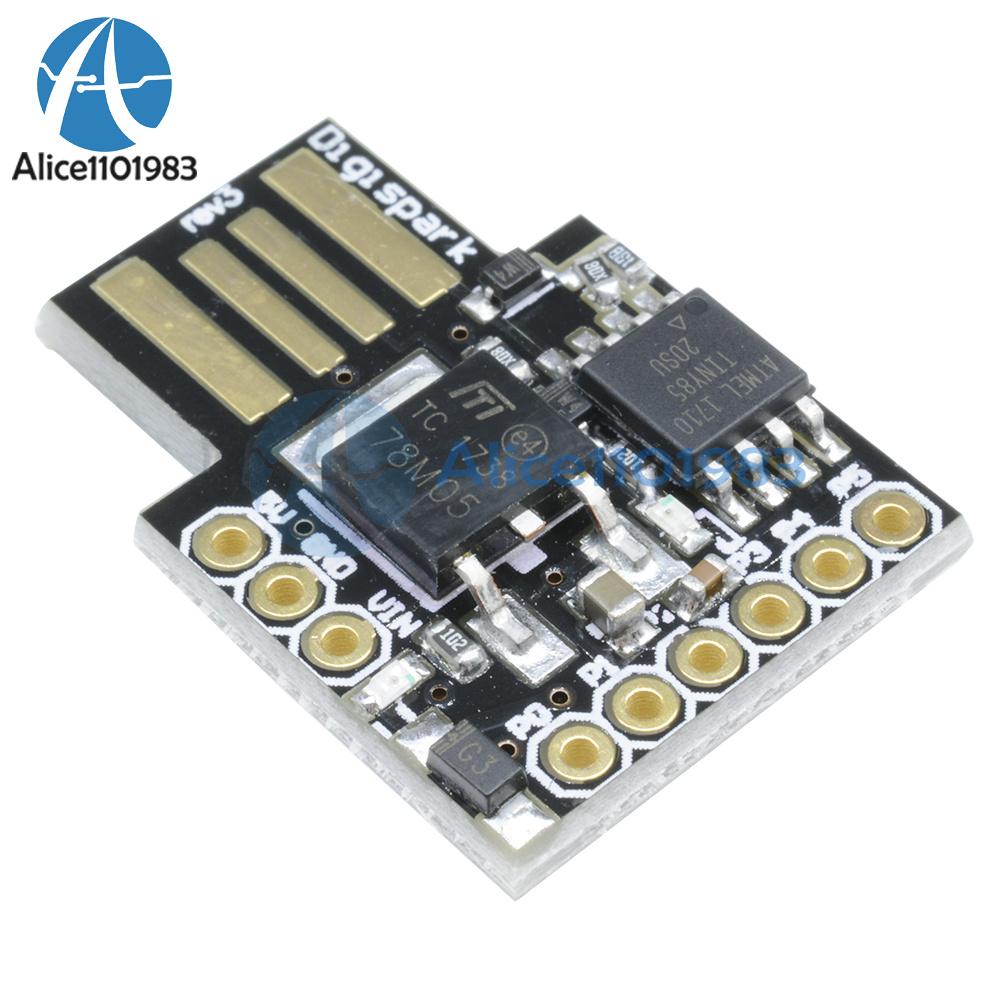 Digispark kickstarter attiny arduino general micro usb