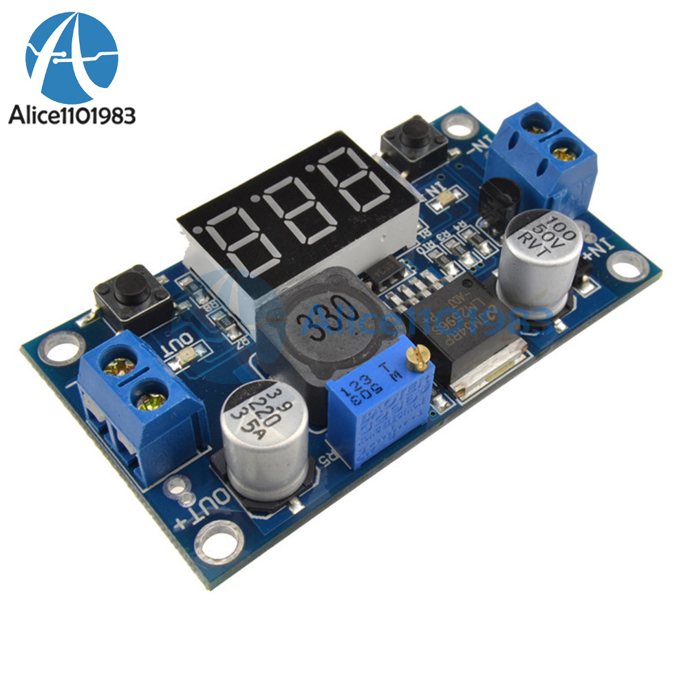 Lm2596 Buck Step Down Power Converter Module Dc 4040 To 13 37v Regulator Using L200 Electronic Circuits And Diagramelectronics Create Similar Products The Most Affordable Best Selling With Voltage Display