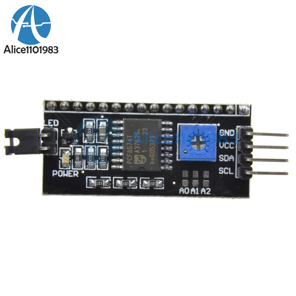 Details about IIC/I2C/TWI/SP I Serial Interface Board Module Arduino 1602  2004 LCD Display