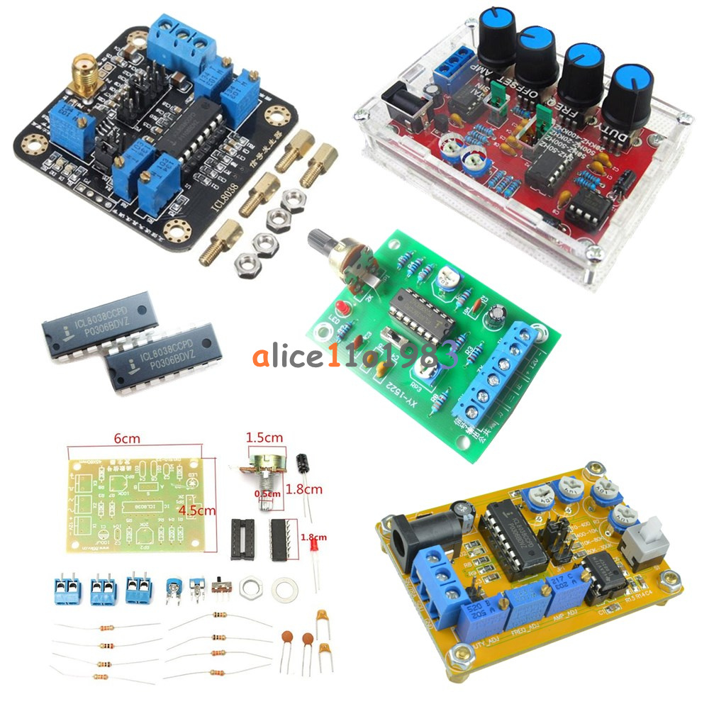 Icl8038 Dds Signal Generator Module Sine Square Triangle Wave Output 8038 Function Circuit Automotivecircuit Diagram Dc 12v 25v