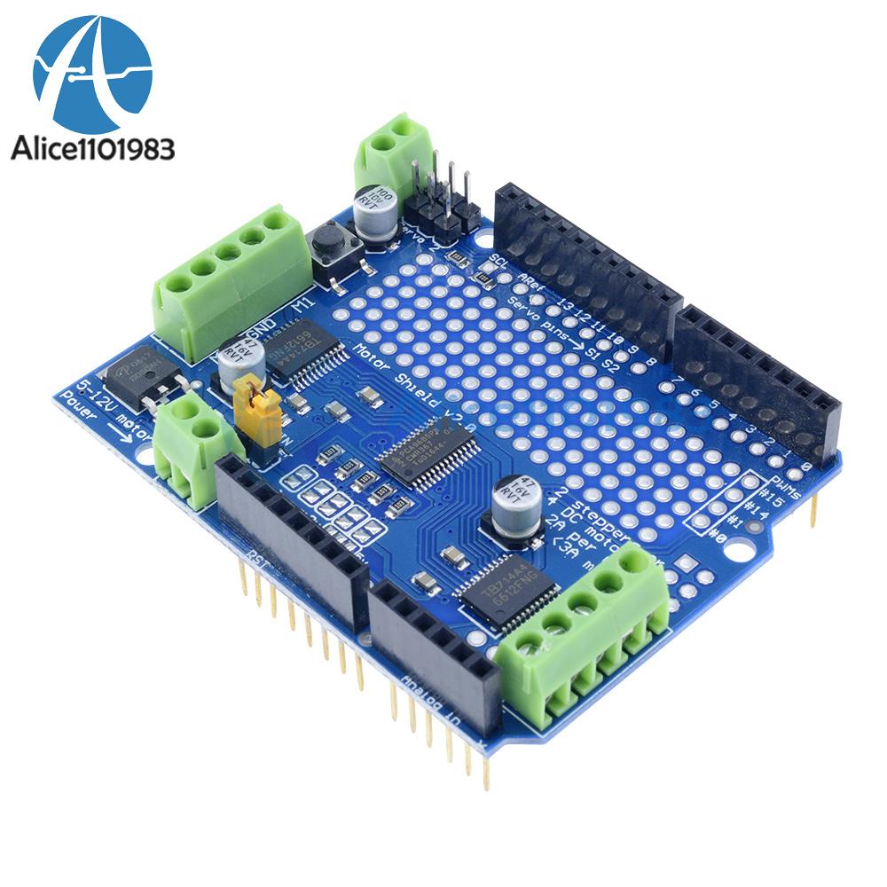 Details about I2C TB6612 Stepper Motor PCA9685 Servo Driver Shield V2 For  Arduino Robot PWM