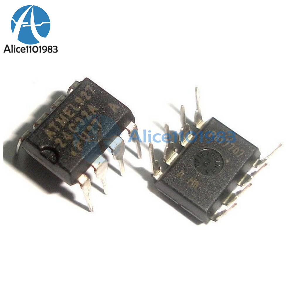 Details about 5PCS IC AT24C32 AT24C32A DIP 2-Wire Serial EEPROM Memory