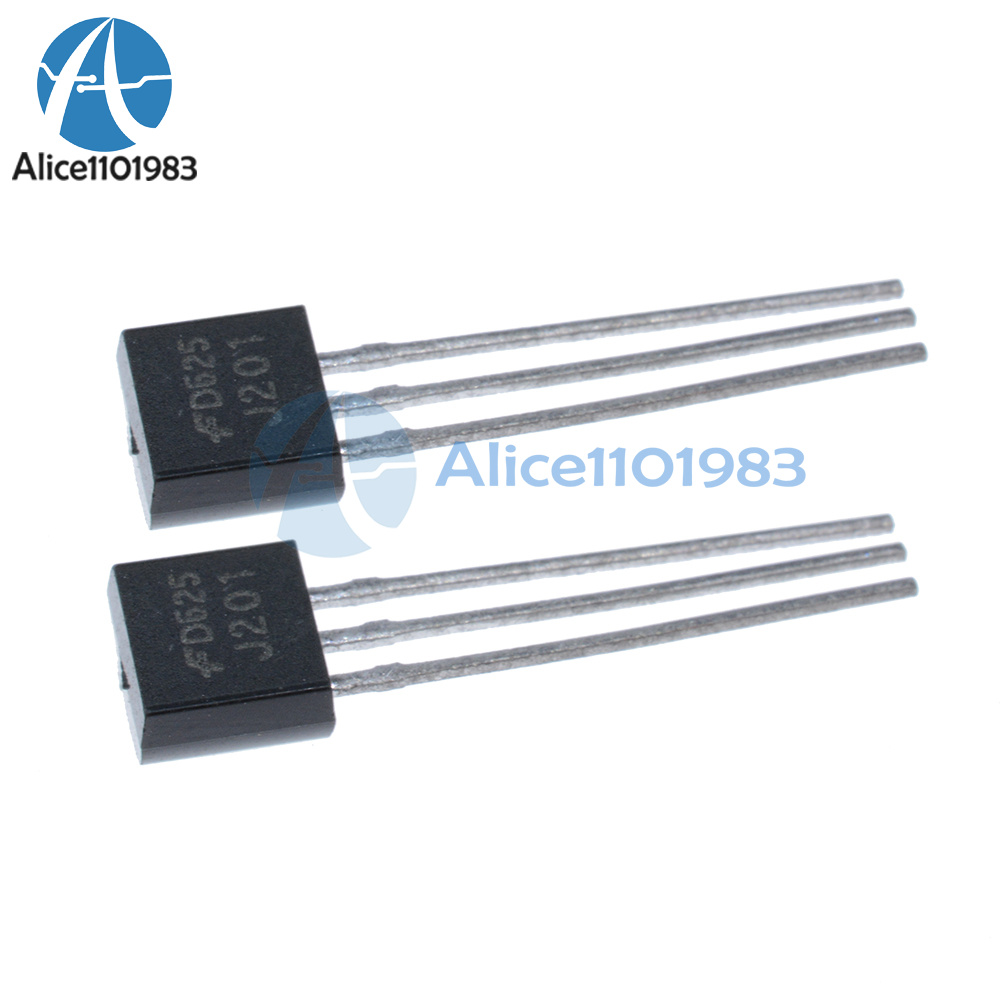 5PCS J201 Transistor Jfet Canal N TO-92 50 mA 40 V Reino Unido