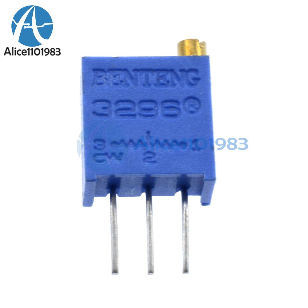 20Pcs NEW 3296W-502 3296 W 5K ohm Trim Pot Trimmer Potentiometer