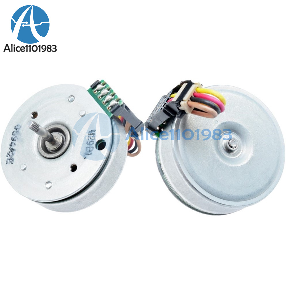 DC Brushless Motor 3 Phase Outer Rotor Micro 9-Pole Coil Motor Screw Holes