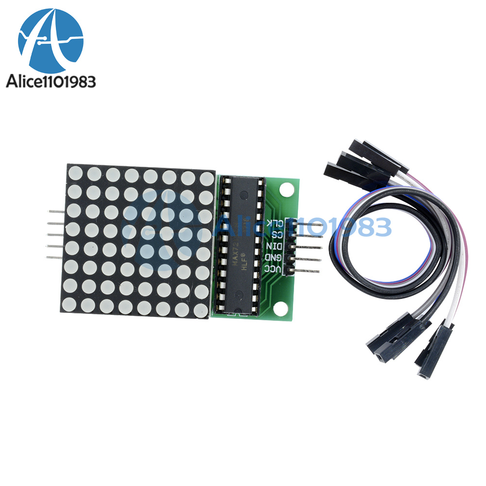 Max7219 Dot Led Matrix Module Mcu Control Display For Driver It All Depends On Your Circuit And What Item Description