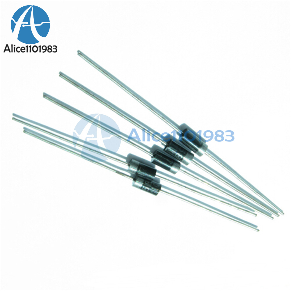 50 PCS 1N4004 IN4004 DO-41 1A 400V Rectifie Diodes