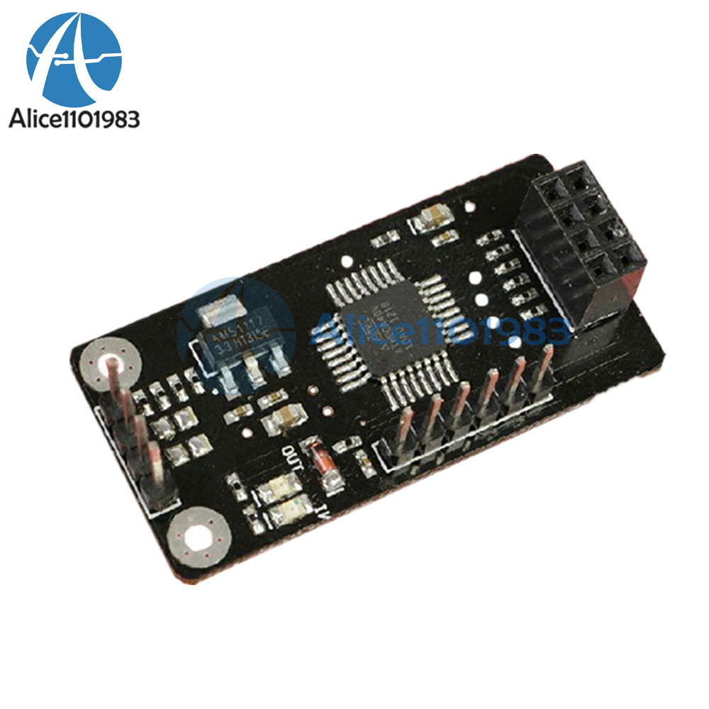 2PCS ATMEGA48+NRF24L01+wireless Shield module SPI to IIC I2C TWI Interface