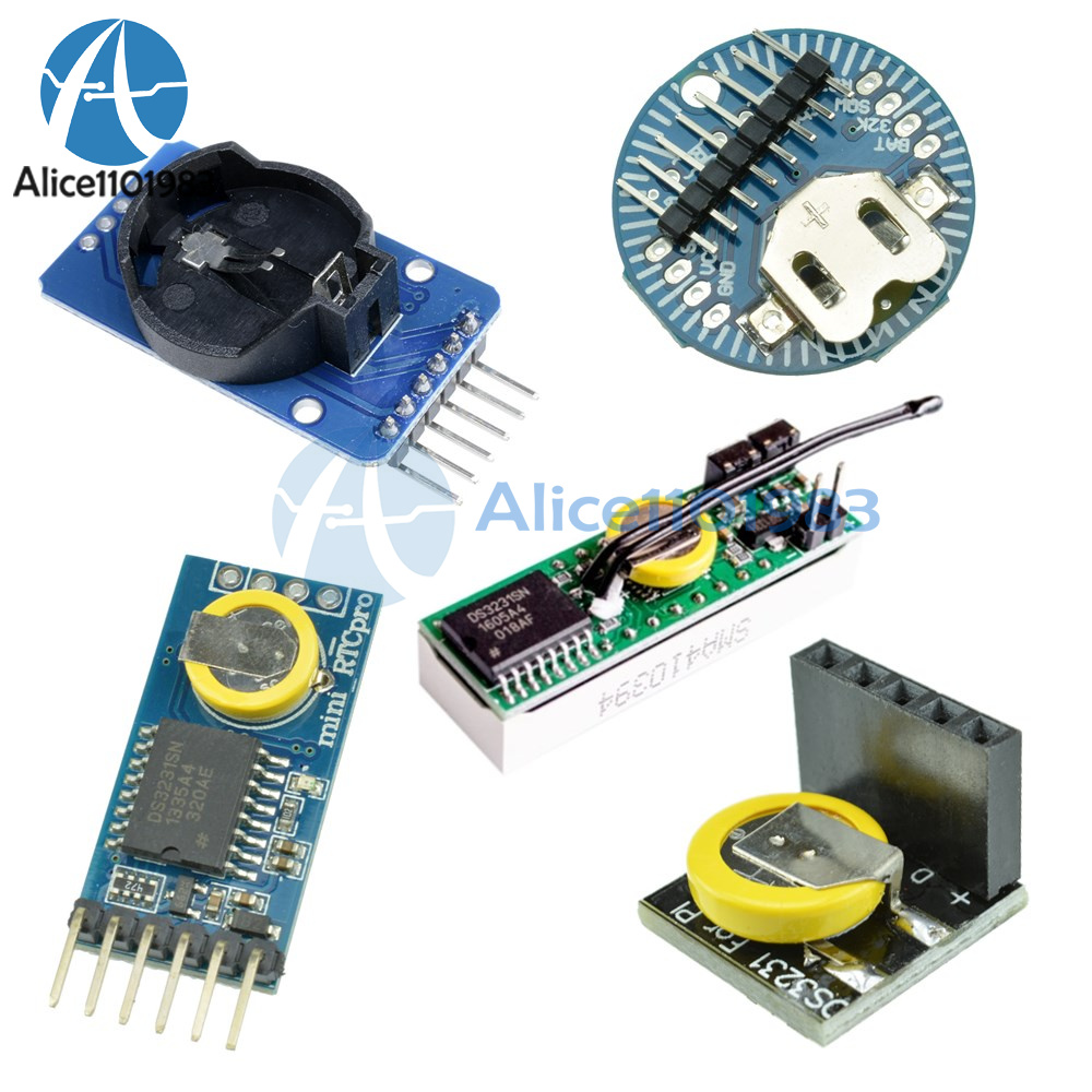 Ds3231 Ds3231sn 33v 5v Rtc I2c Real Time Clock Module For Raspberry Arduino And Circuit Schematics Pi
