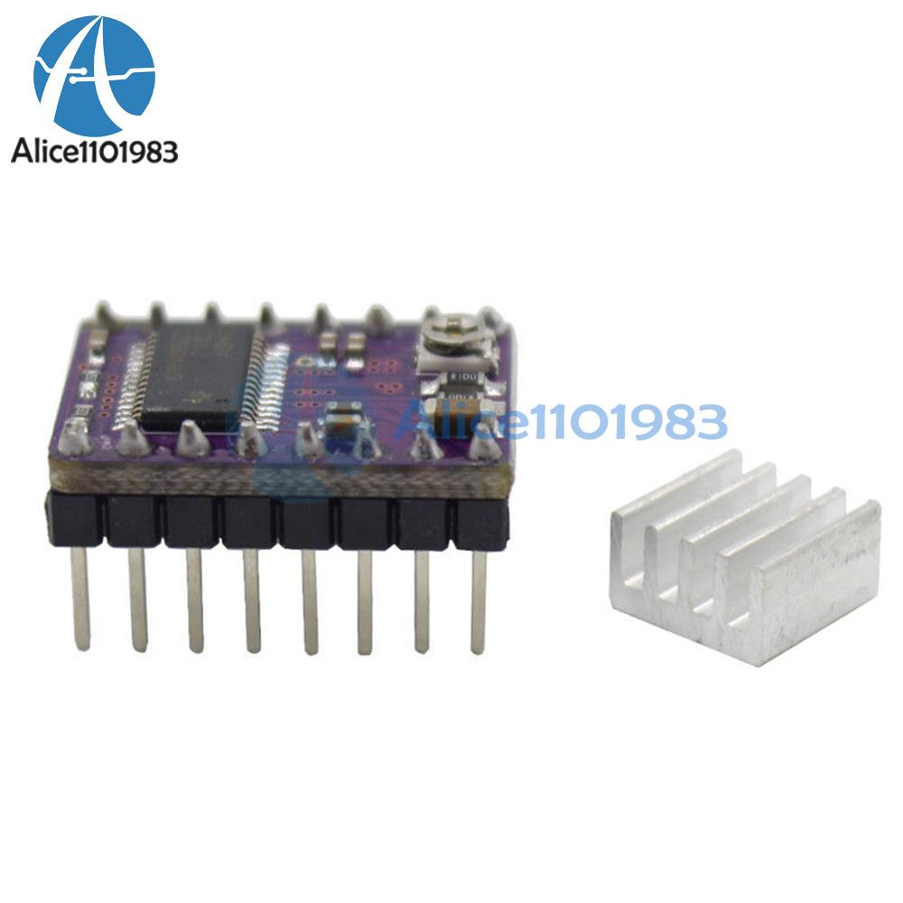 2pcs drv8825 stepper motor driver module 3d printer ramps1 for Ti stepper motor driver