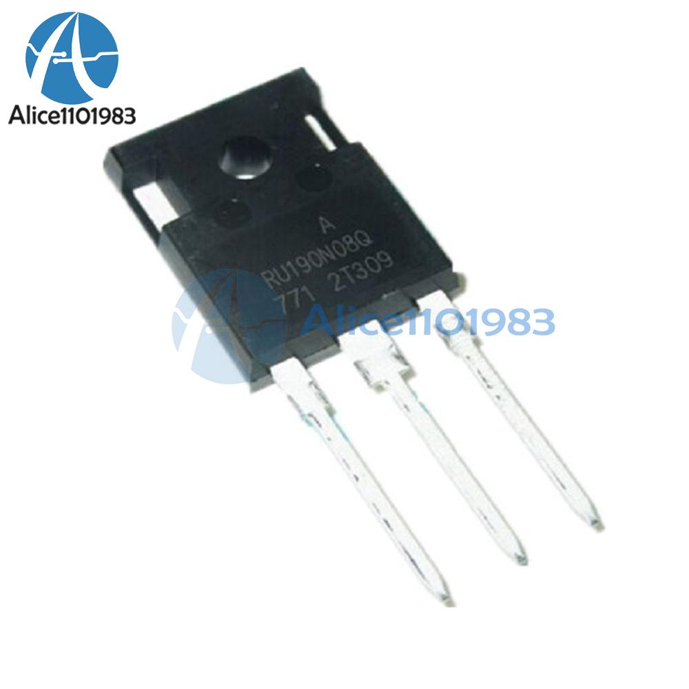 NEW RU190N08Q RU190N08 N-Channel Advanced Power MOSFET IC