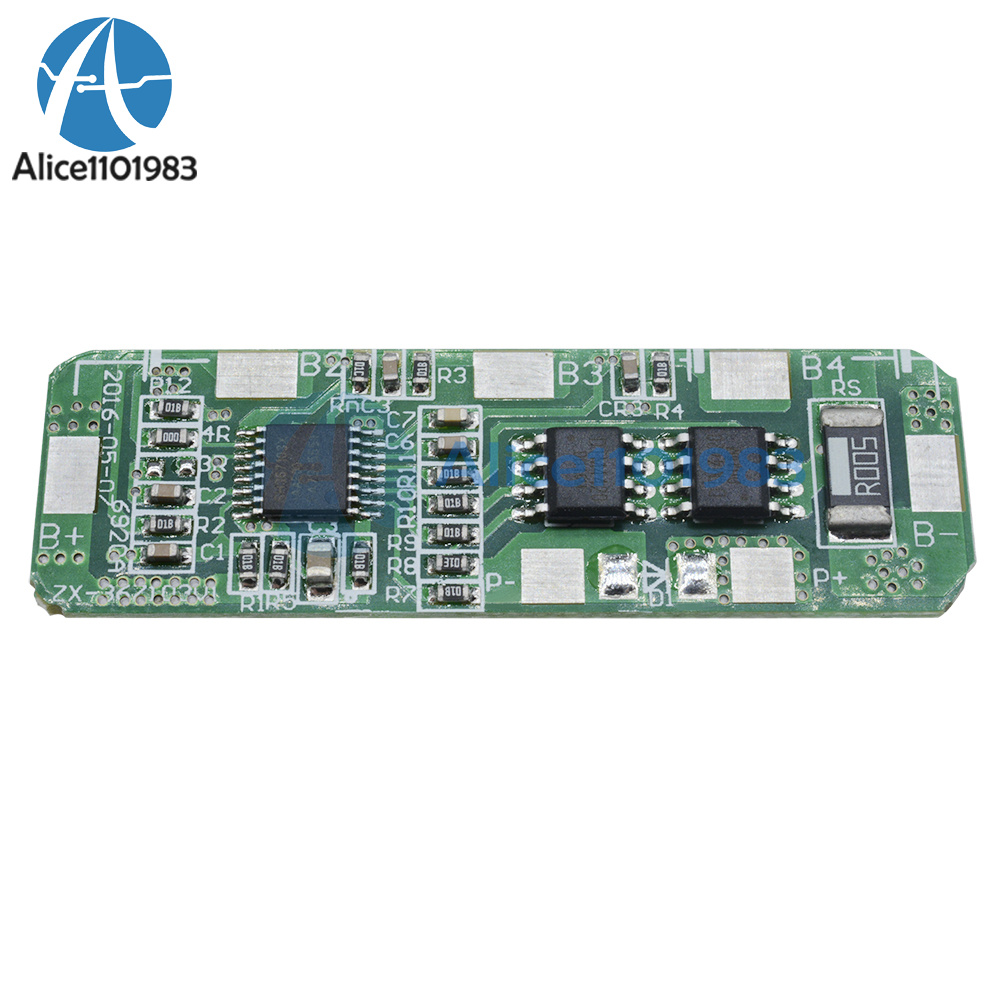 4a 5a Pcb Bms Protection Board For 4 Packs 18650 Li Ion Lithium Battery Overdischarge Cut Off Circuit Electronics Design Cell 4s