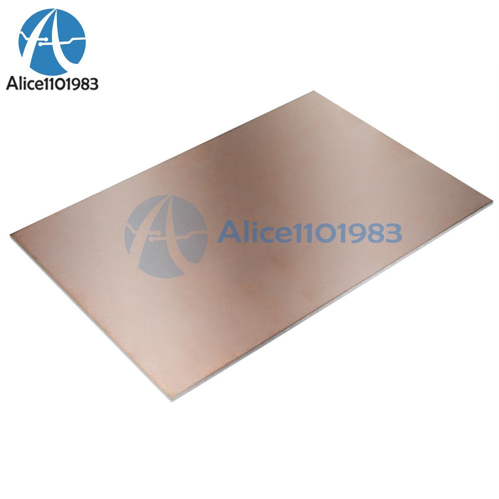 1//2//5//10PCS 10*15CM FR4 1.5MM Thickness Single PCB Copper Clad Laminate Board