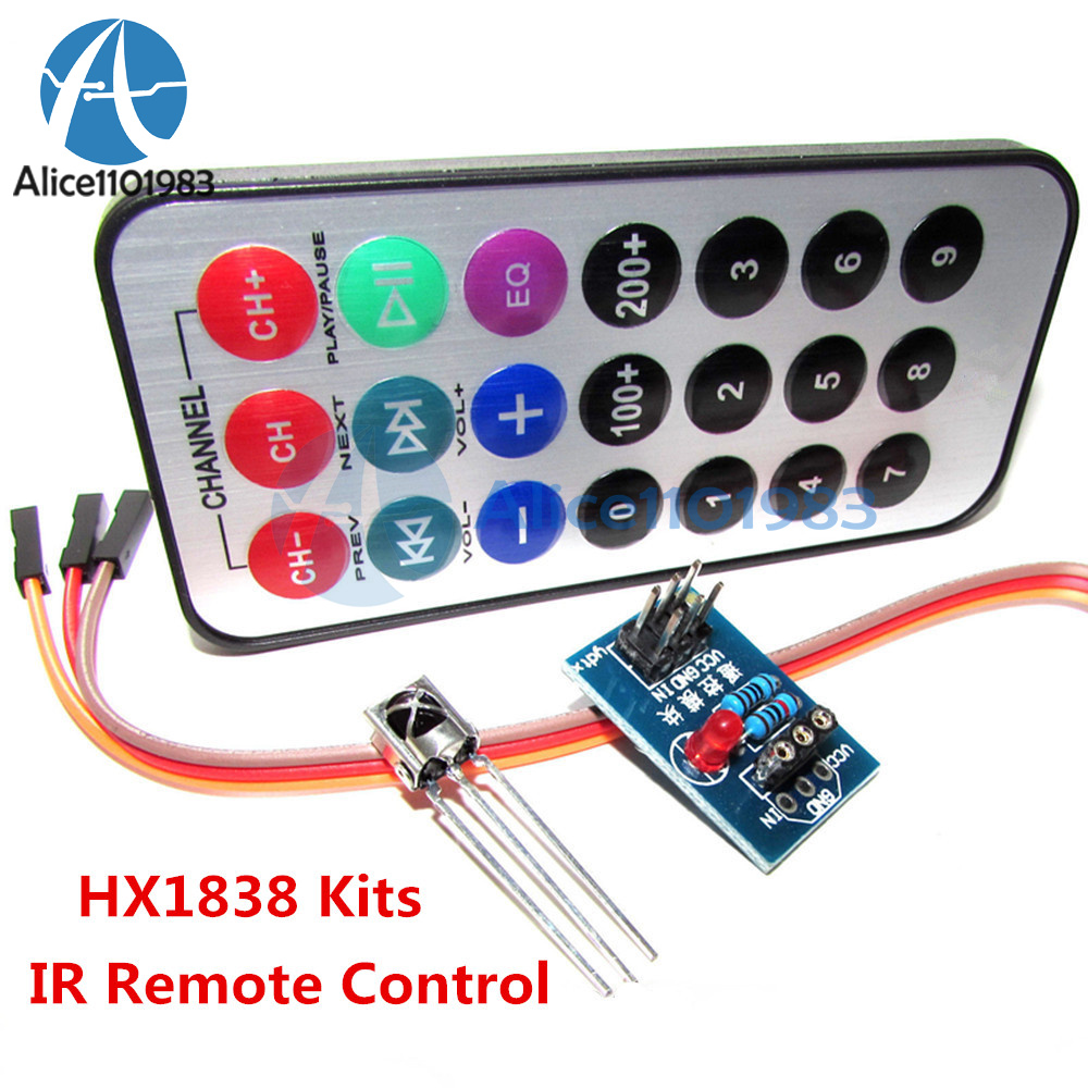 Hx1838 Vs1838 Nec Infrared Ir Wireless Remote Control Sensor Module Transmitter Integrated Circuit For Arduino