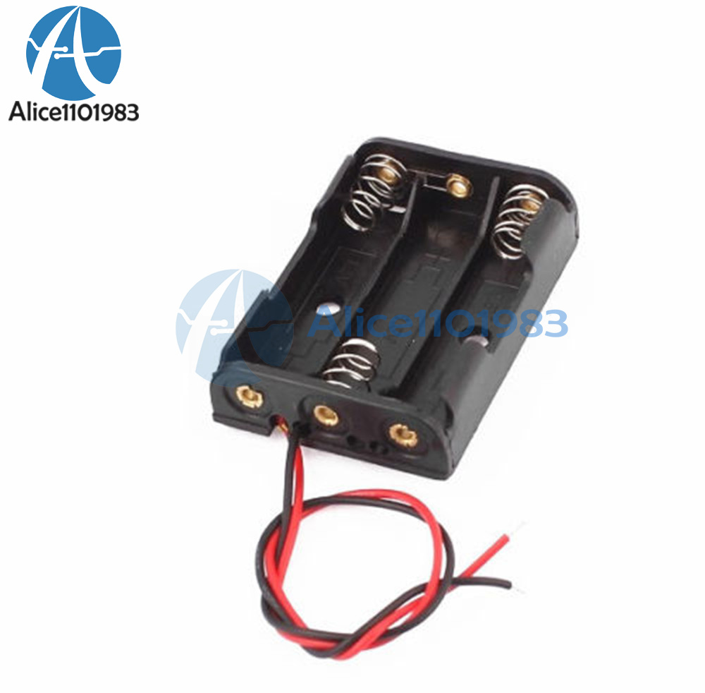 Plastic Battery Storage Case Box Holder For 3 X AA 3xAA 4.5V with ...