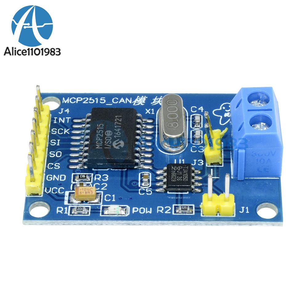 10Pcs MCP2515 Module CAN Bus Module TJA1050 Récepteur pour Arduino
