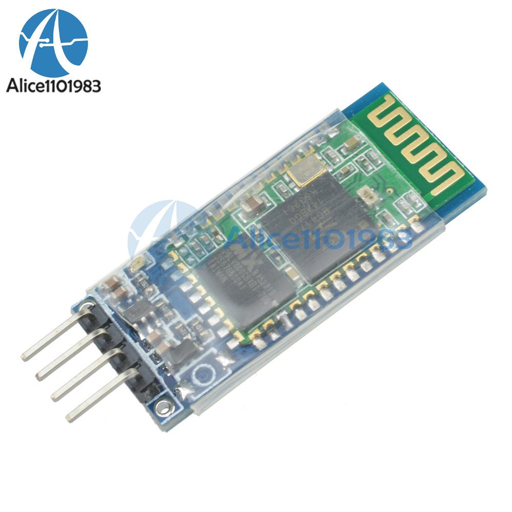 06: Wireless Serial 4 Pin Bluetooth RF Transceiver Module HC