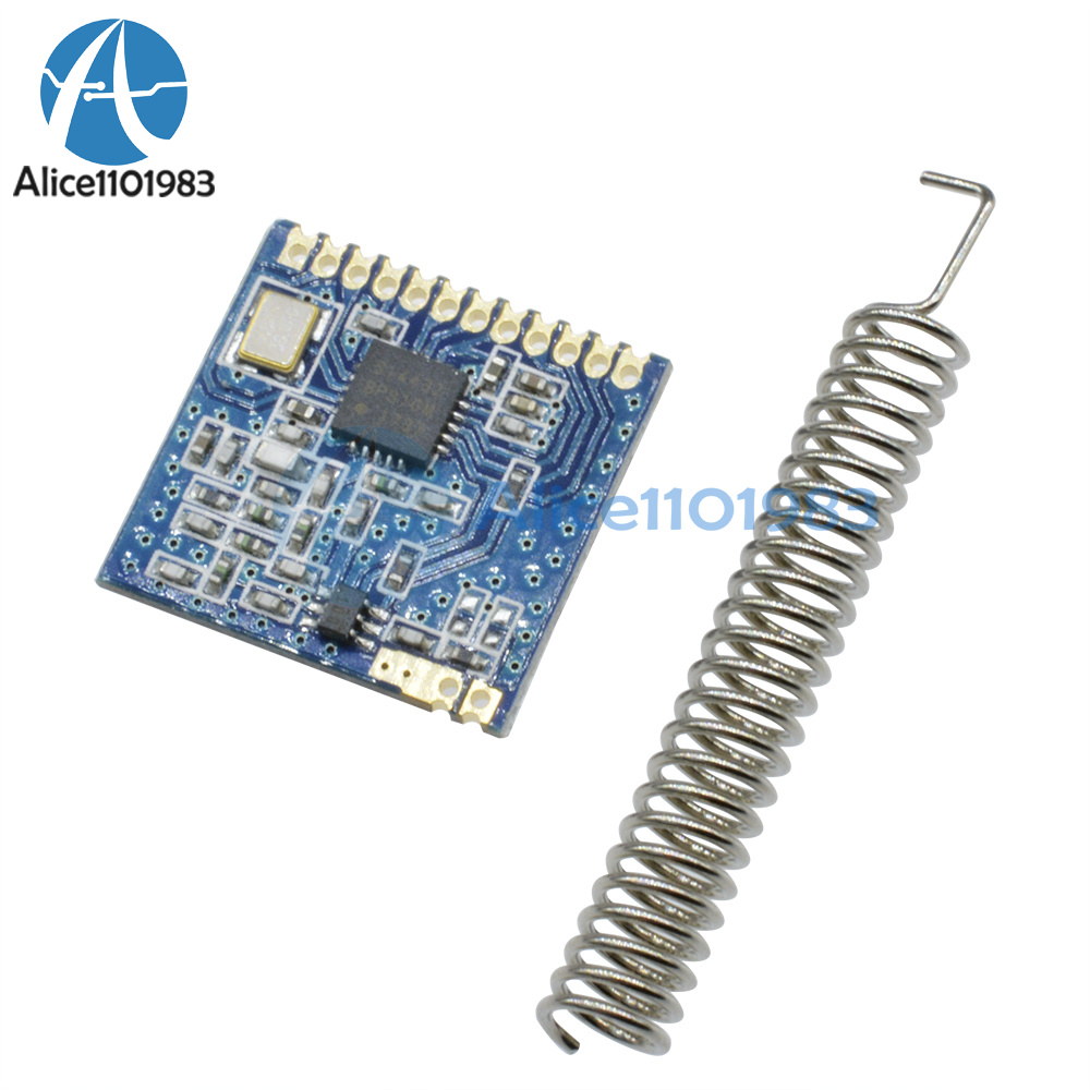 Details about SI4432 433MHz 1000M Wireless Module Transceiver Communication  Module