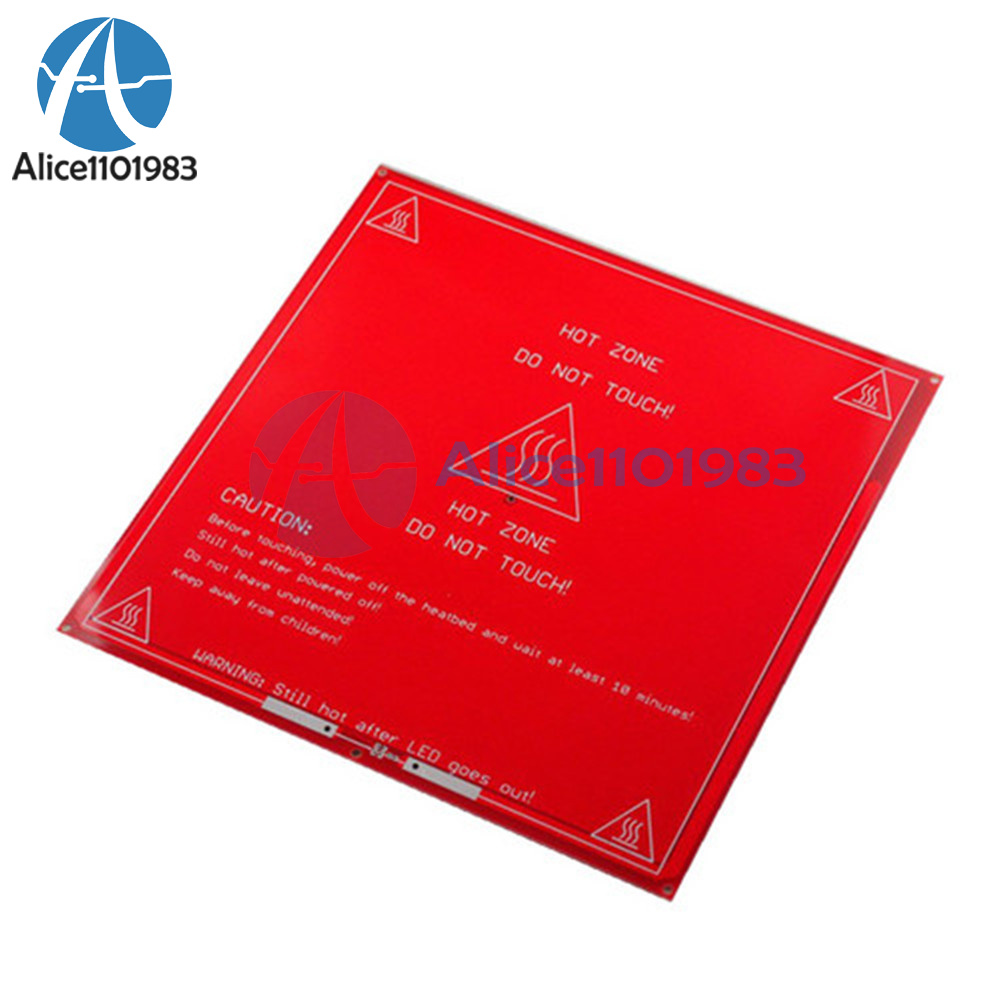 Reprap Heatbed Heat Bed Pcb Mk2a Hot Plate For 3d Printer Prusa Mendel Sales Of Quality Assurance Active Components Integrated Circuits