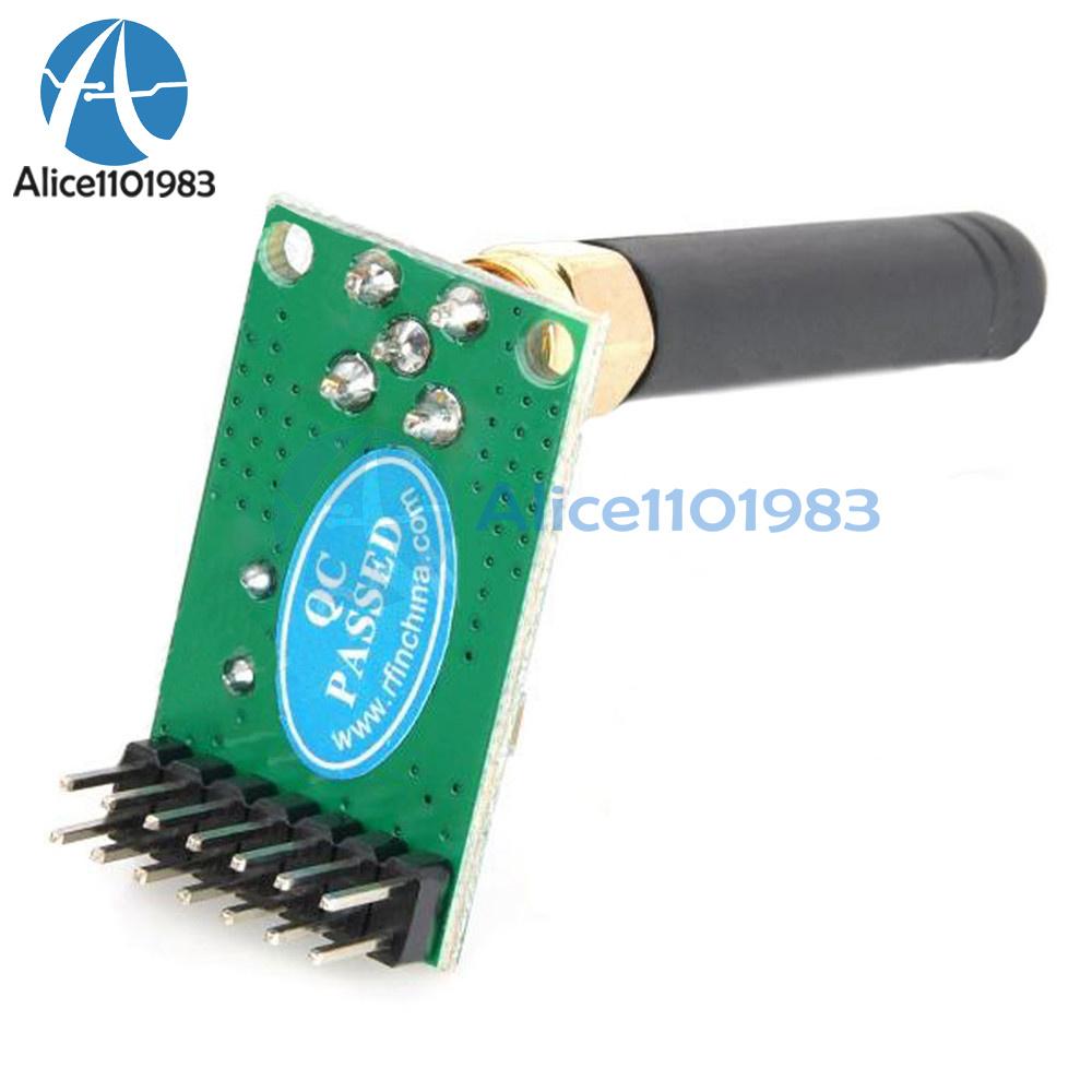 ptr8000+ Tri-Band nrf905 Wireless transceiver módulos Antenna 433//486//915MHz