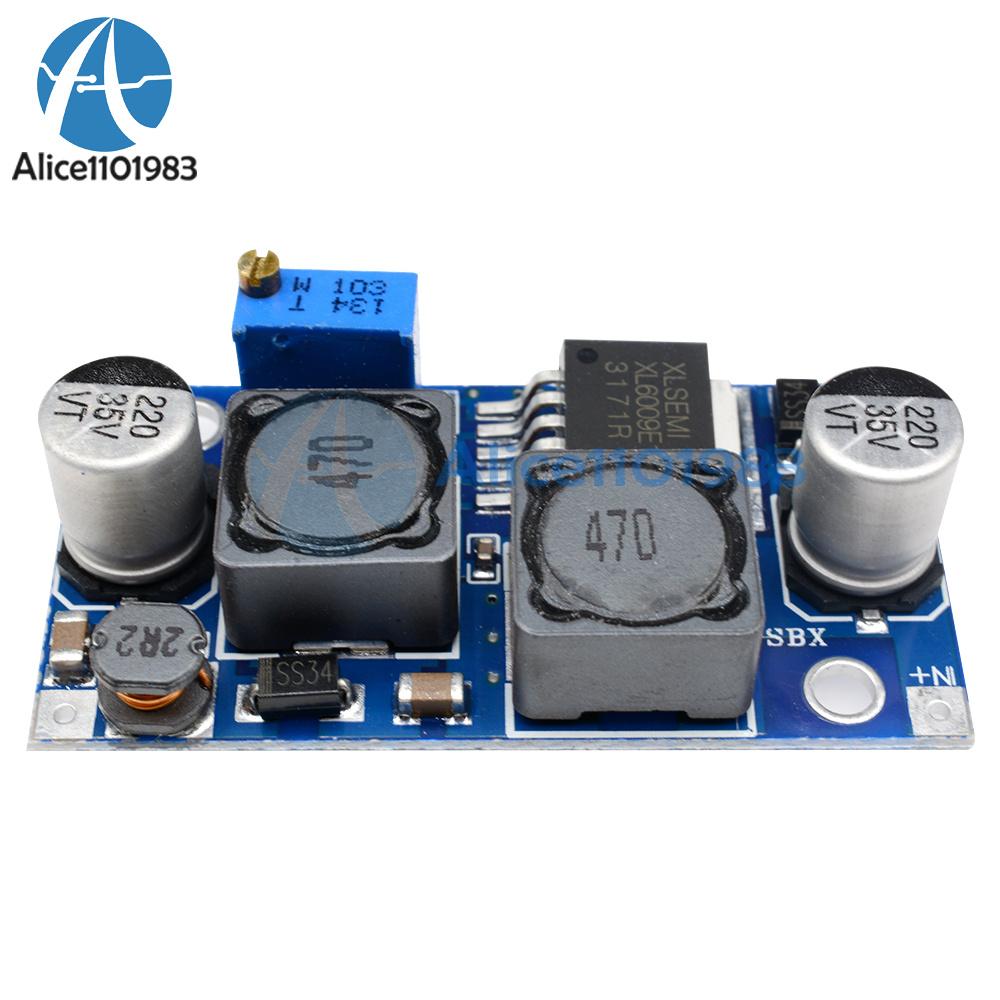 Adjustable Voltage Stepdown Converter Schematic