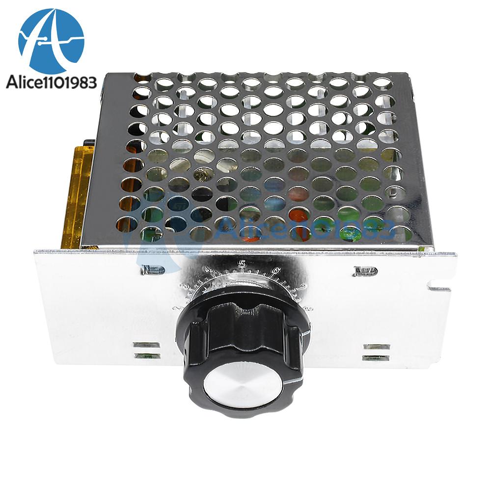 Details About 4000w 220v Ac Scr Motor Speed Controller Module Voltage Regulator Dimmer Herrold Triac Controllers