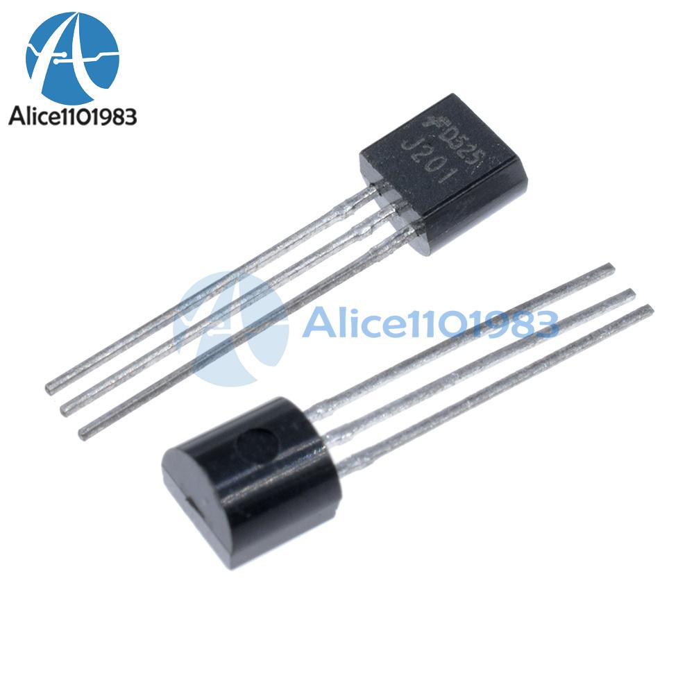20PCS J201 50 mA 40 V TO-92 JFET N-CHANNEL Transistor