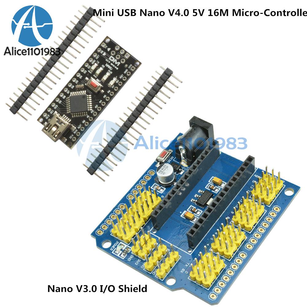 Arduino mini usb nano v atmega i o