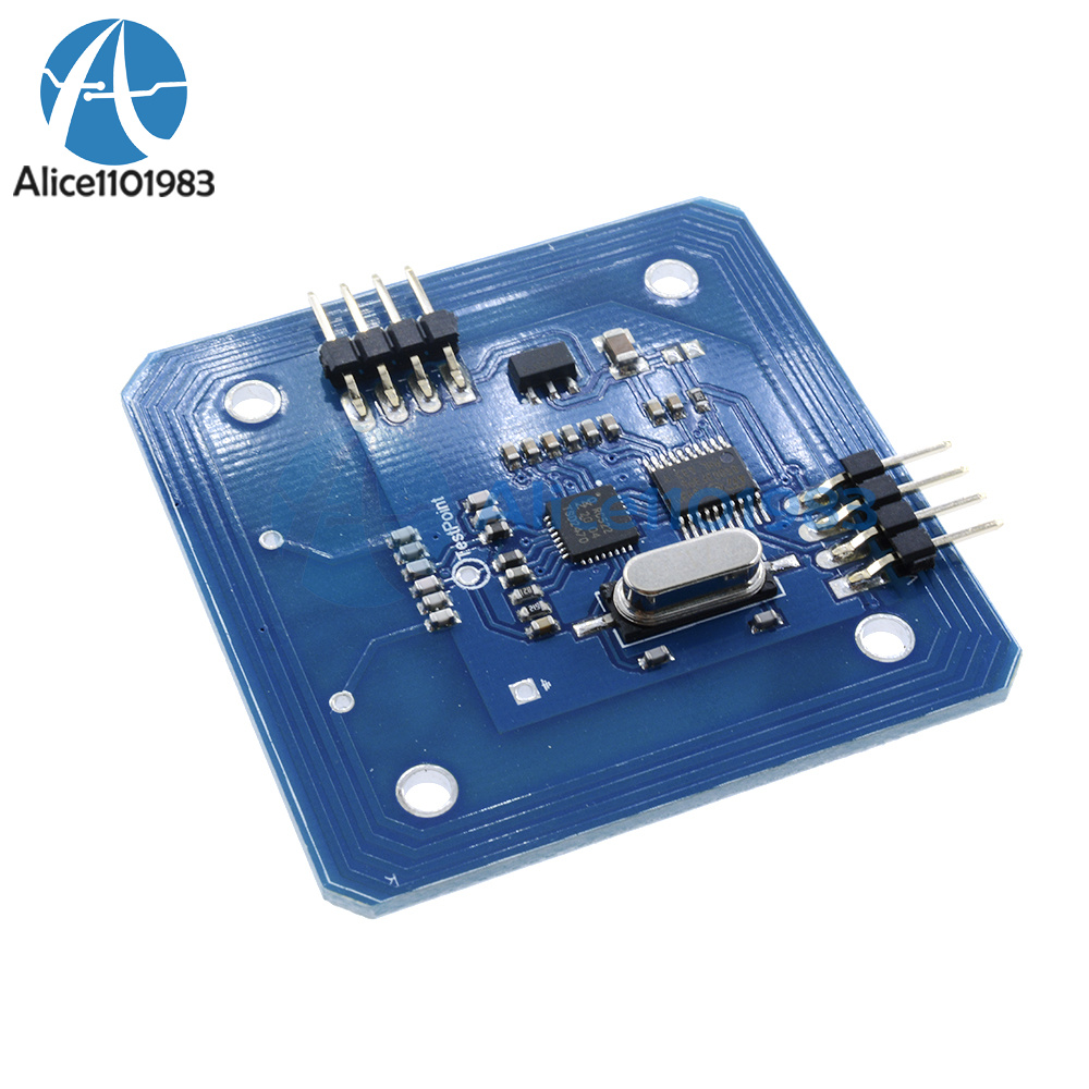 Rc mhz rfid module for arduino and raspberry pi