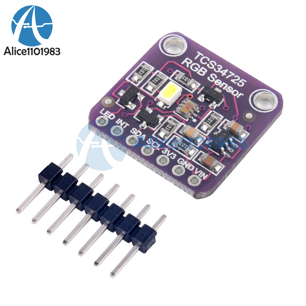 Uinn Professional Tcs34725 Color Sensor Rgb Development Arduino Sensing Tutorial Tsc230 Tsc3200 Circuit Light Recognition Module For