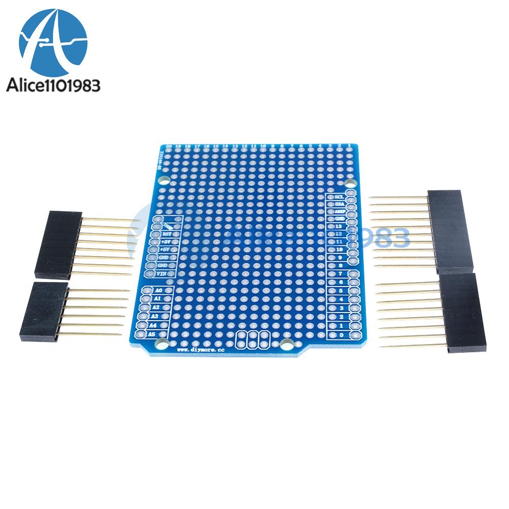 Prototype pcb diy for arduino uno r shield board fr