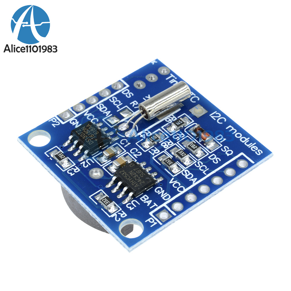 Arduino i c rtc ds at real time clock module for