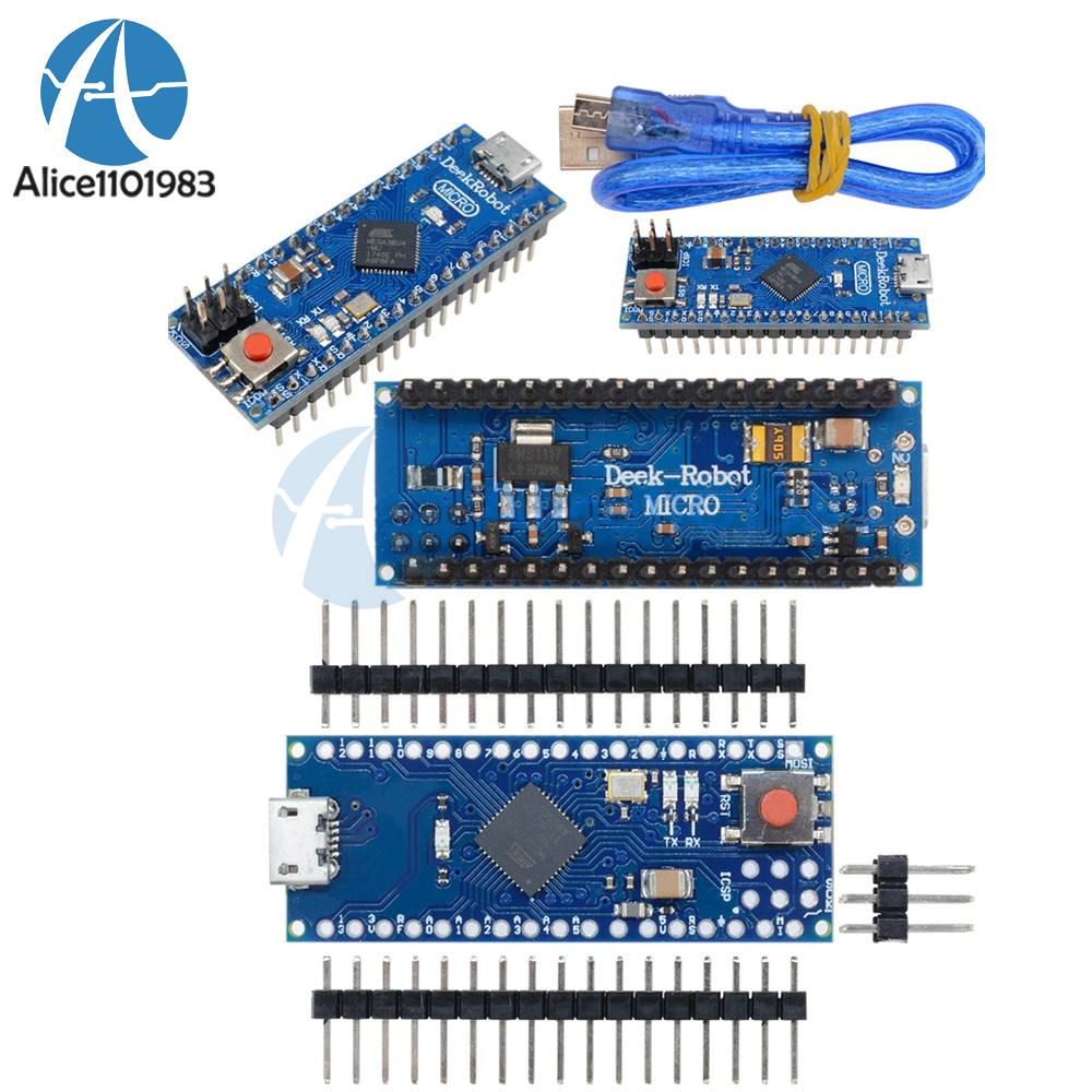 Micro Atmega32u4 5v 16mhz Compatible Arduino Mirco Replace Pro Mini Microcontroller Circuit Board For Nano Cable